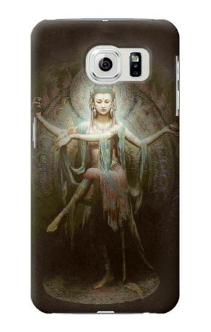 S0787 Guan Yin Case Cover For Samsung Galaxy S6