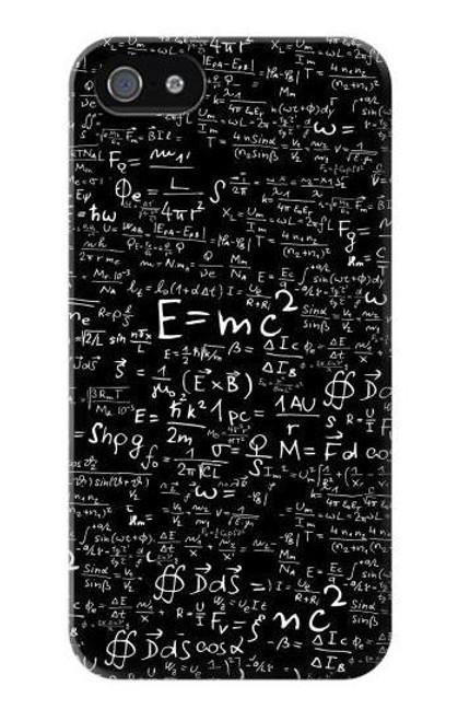 S2574 Mathematics Physics Blackboard Equation Case For IPHONE 4/4S