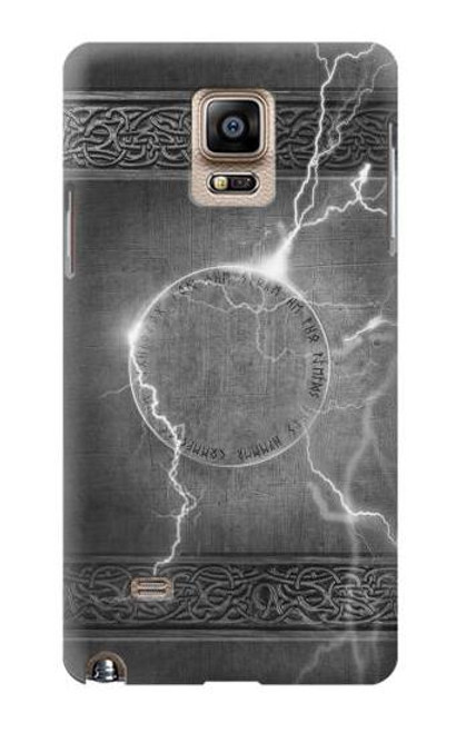 S2533 Thor Thunder Strike Hammer Case For Samsung Galaxy Note 4