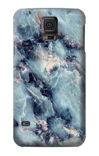 S2689 Blue Marble Texture Graphic Printed Case For Samsung Galaxy S5