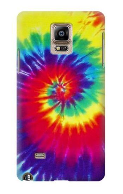 S2884 Tie Dye Swirl Color Case For Samsung Galaxy Note 4