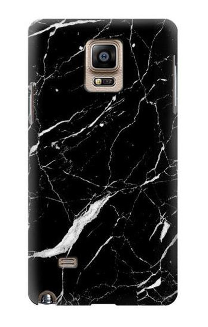 S2895 Black Marble Graphic Printed Case For Samsung Galaxy Note 4