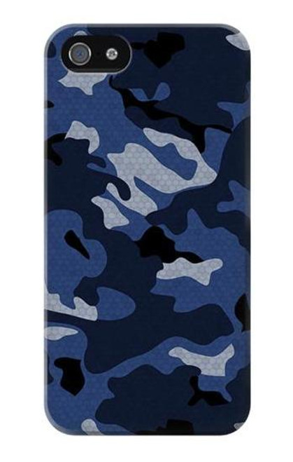 S2959 Navy Blue Camo Camouflage Case For IPHONE 5 5s SE