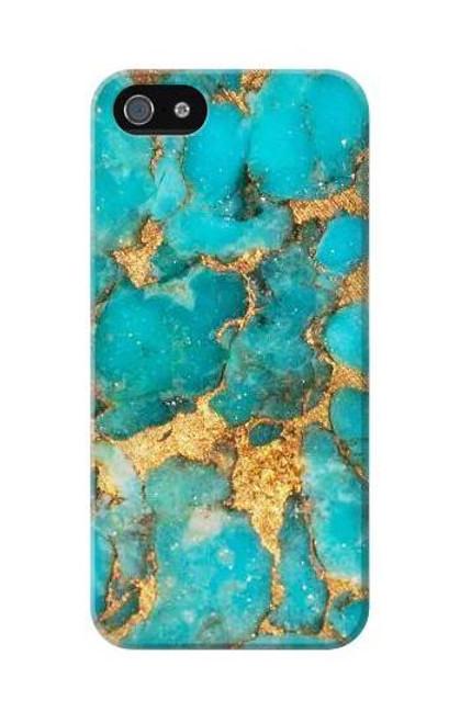 S2906 Aqua Turquoise Stone Case For IPHONE 5C