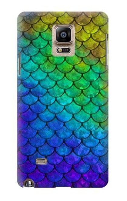 S2930 Mermaid Fish Scale Case For Samsung Galaxy Note 4