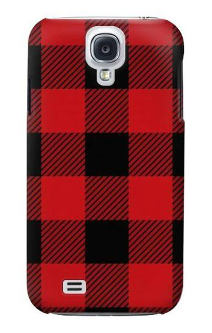 S2931 Red Buffalo Check Pattern Case For Samsung Galaxy S4