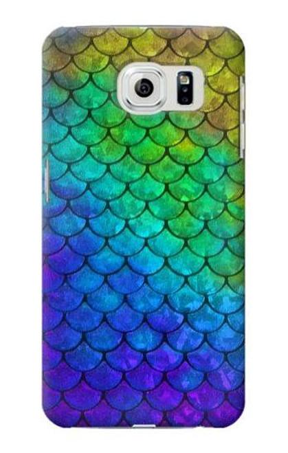 S2930 Mermaid Fish Scale Case For Samsung Galaxy S6 Edge