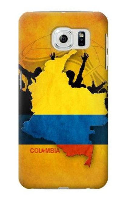 S2996 Colombia Football Copa 2016 Case For Samsung Galaxy S6 Edge