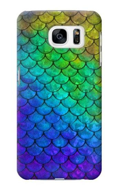 S2930 Mermaid Fish Scale Case For Samsung Galaxy S7