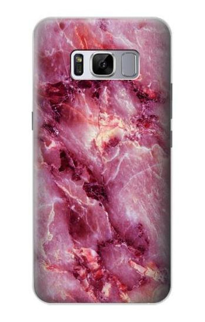 S3052 Pink Marble Graphic Printed Case For Samsung Galaxy S8 Plus