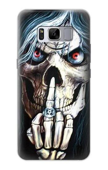 S0222 Skull Pentagram Case For Samsung Galaxy S8