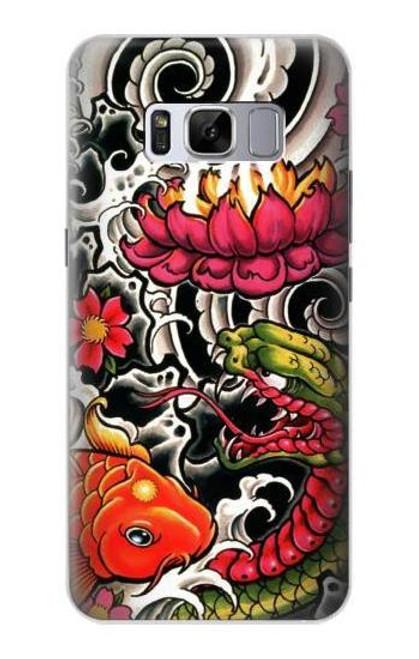 S0605 Yakuza Tattoo Case For Samsung Galaxy S8