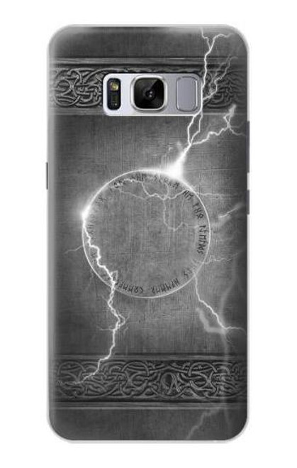 S2533 Thor Thunder Strike Hammer Case For Samsung Galaxy S8