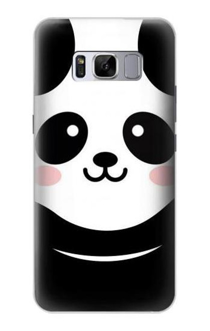 S2662 Cute Panda Cartoon Case For Samsung Galaxy S8