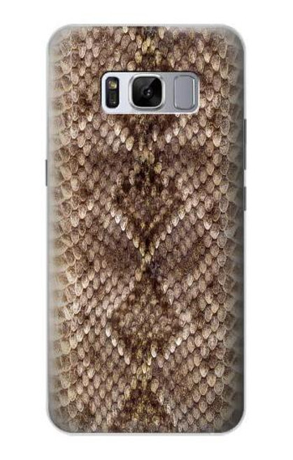 S2875 Rattle Snake Skin Graphic Printed Case For Samsung Galaxy S8