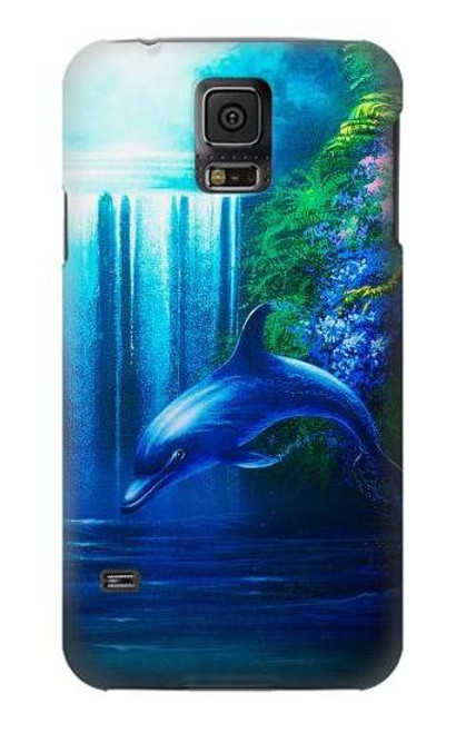 S0385 Dolphin Case For Samsung Galaxy S5 mini