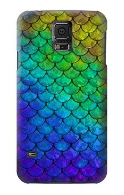 S2930 Mermaid Fish Scale Case For Samsung Galaxy S5 mini