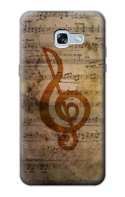 S2368 Sheet Music Notes Case For Samsung Galaxy A5 (2017)
