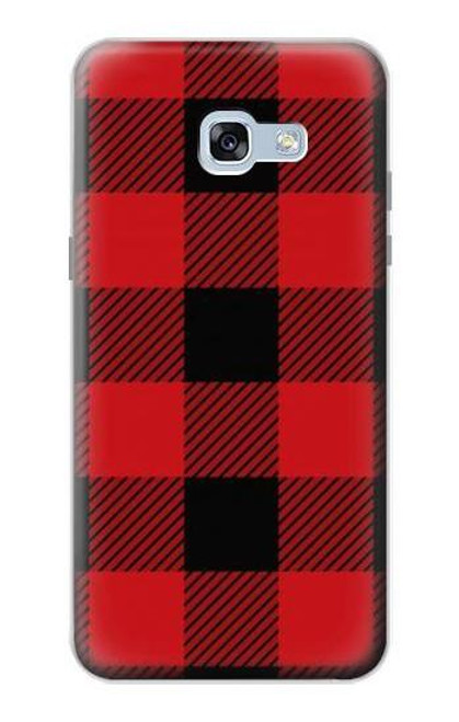 S2931 Red Buffalo Check Pattern Case For Samsung Galaxy A5 (2017)
