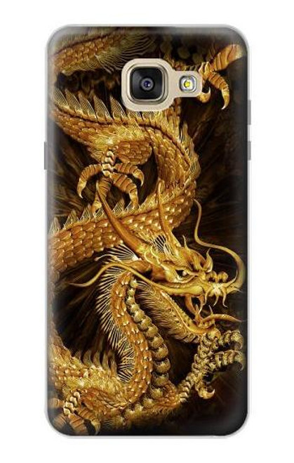 S2804 Chinese Gold Dragon Printed Case For Samsung Galaxy A5 (2016)
