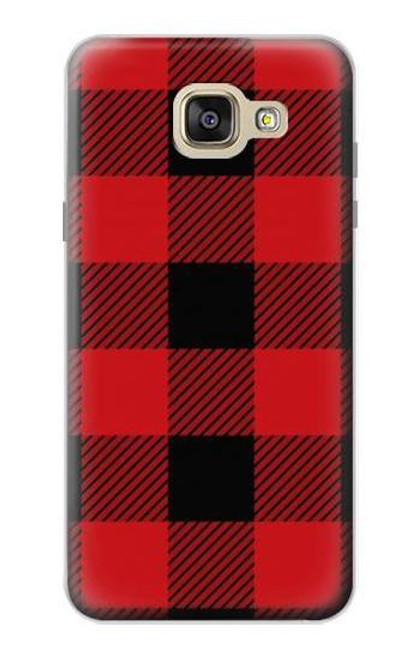 S2931 Red Buffalo Check Pattern Case For Samsung Galaxy A5 (2016)