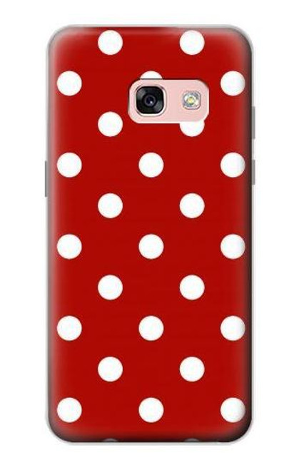 S2951 Red Polka Dots Case For Samsung Galaxy A3 (2017)