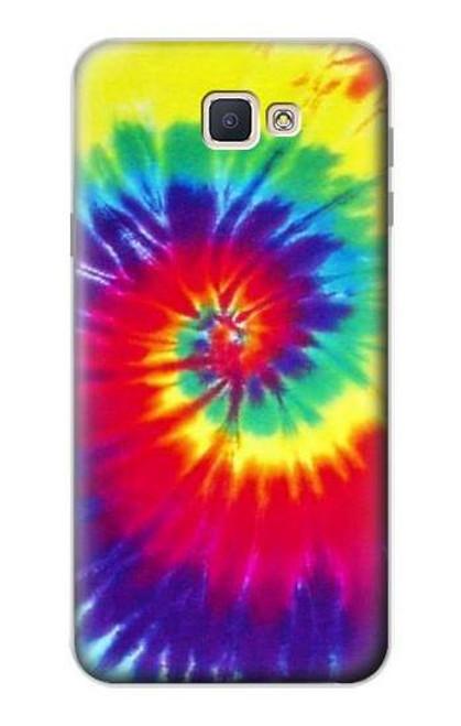S2884 Tie Dye Swirl Color Case For Samsung Galaxy J7 Prime
