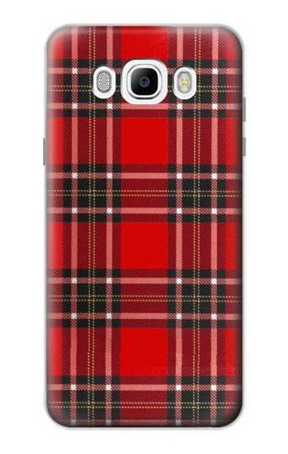 S2374 Tartan Red Pattern Case For Samsung Galaxy J7 (2016)