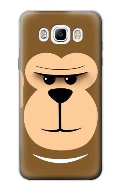 S2721 Cute Grumpy Monkey Cartoon Case For Samsung Galaxy J7 (2016)
