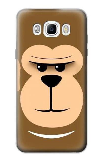 S2721 Cute Grumpy Monkey Cartoon Case For Samsung Galaxy J7 (2016)