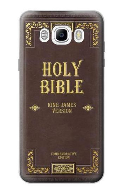 S2889 Holy Bible Cover King James Version Case For Samsung Galaxy J7 (2016)