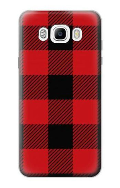 S2931 Red Buffalo Check Pattern Case For Samsung Galaxy J7 (2016)