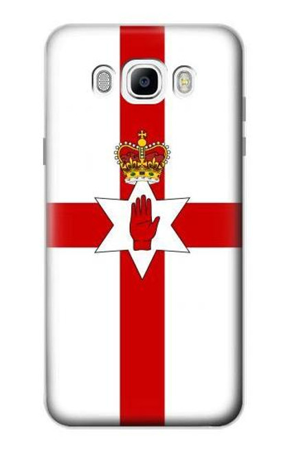 S3089 Flag of Northern Ireland Case For Samsung Galaxy J7 (2016)