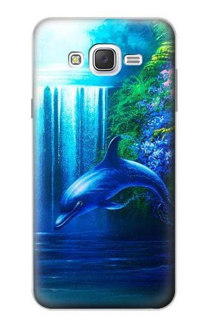 S0385 Dolphin Case For Samsung Galaxy J7