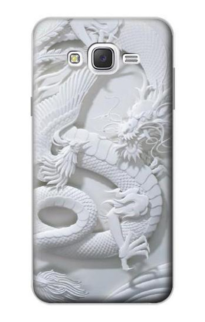 S0386 Dragon Carving Case For Samsung Galaxy J7