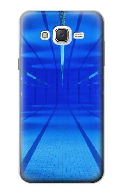 S2787 Swimming Pool Under Water Case For Samsung Galaxy J7