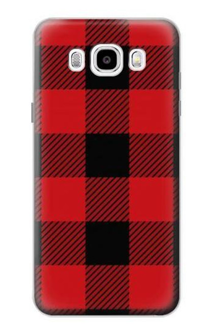 S2931 Red Buffalo Check Pattern Case For Samsung Galaxy J5 (2016)