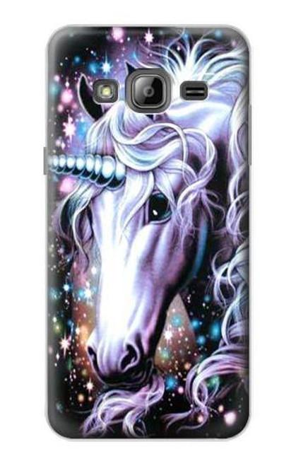 S0749 Unicorn Horse Case For Samsung Galaxy J3 (2016)