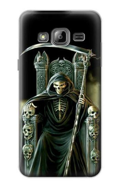 S1024 Grim Reaper Skeleton King Case For Samsung Galaxy J3 (2016)