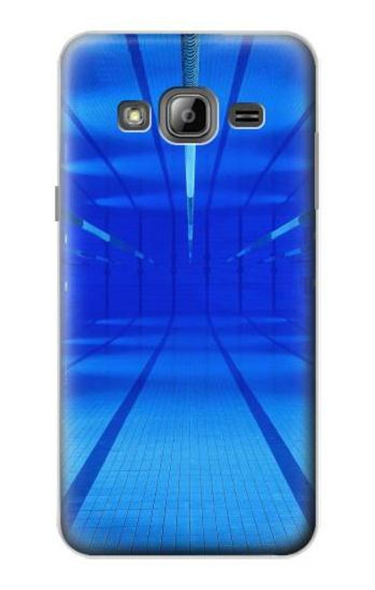 S2787 Swimming Pool Under Water Case For Samsung Galaxy J3 (2016)
