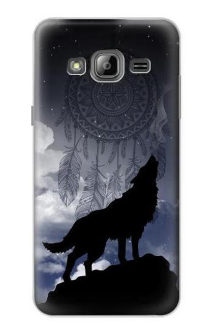 S3011 Dream Catcher Wolf Howling Case For Samsung Galaxy J3 (2016)
