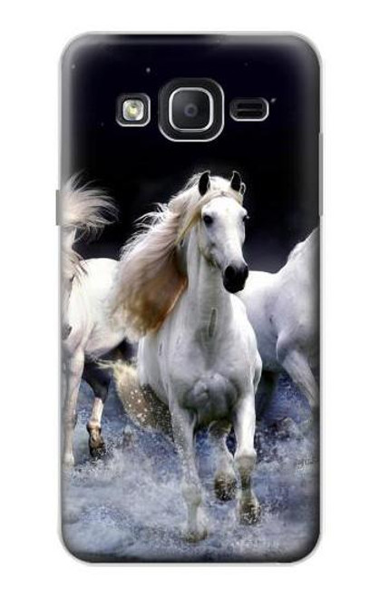 S0246 White Horse Case For Samsung Galaxy On5
