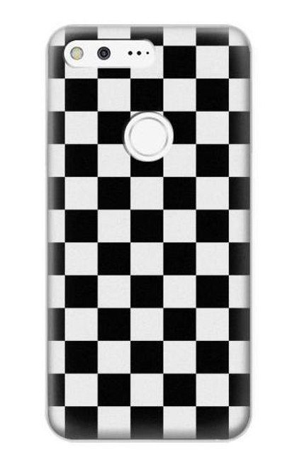 S1611 Checkerboard Chess Board Case For Google Pixel XL