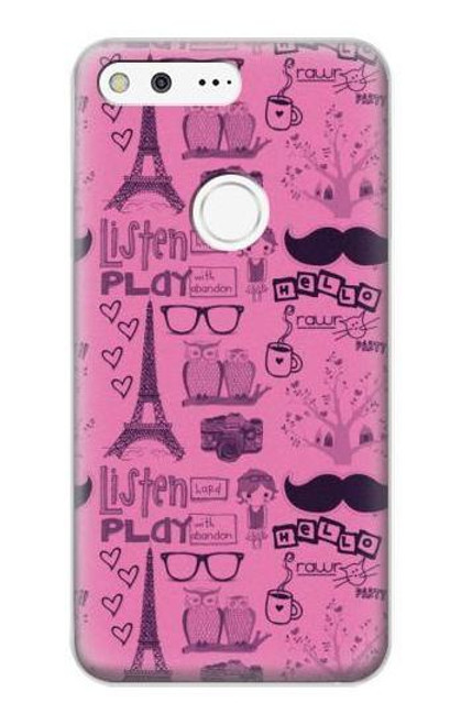 S2885 Paris Pink Case For Google Pixel XL