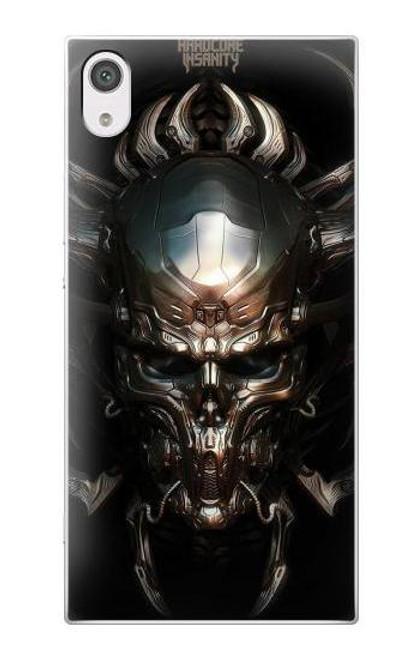 S1027 Hardcore Metal Skull Case For Sony Xperia XA1