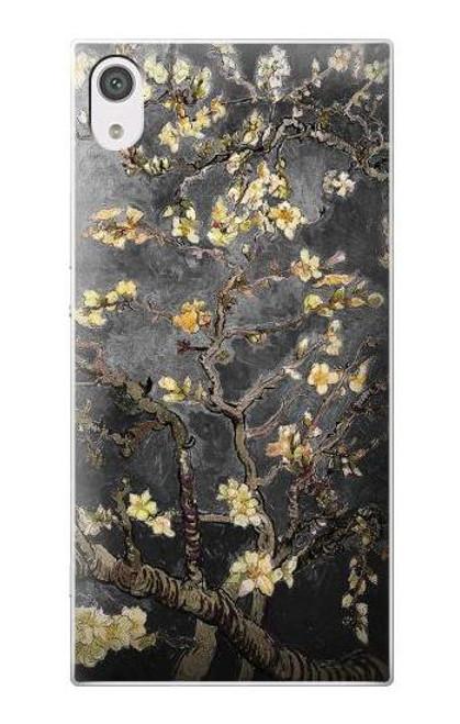S2664 Black Blossoming Almond Tree Van Gogh Case For Sony Xperia XA1