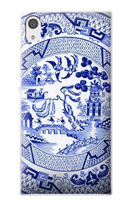 S2768 Willow Pattern Graphic Case For Sony Xperia XA1