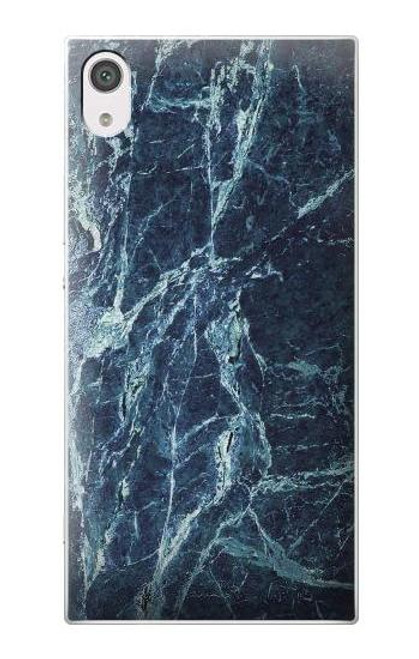 S2799 Light Blue Marble Stone Graphic Printed Case For Sony Xperia XA1