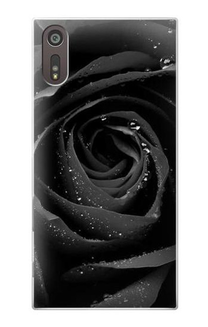 S1598 Black Rose Case For Sony Xperia XZ