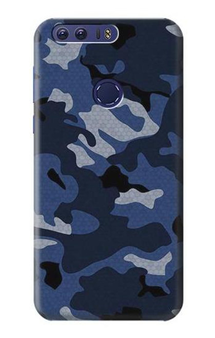 S2959 Navy Blue Camo Camouflage Case For Huawei Honor 8